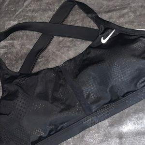 Nike swim top